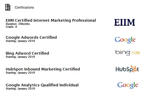 eiim certifications
